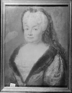 Portret van Marie Eleonore van Anhalt -Dessau (1671-1756)