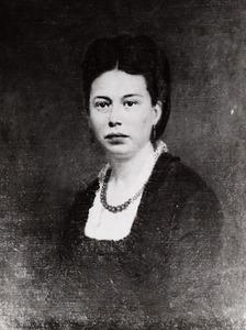 Portret van Hermina Elizabeth Kamphuis (1845-1880)
