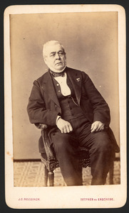 Portret van Jacob Charles du Cloux (1803-1872)