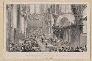 De Inhuldiging van koning Willem II (1792-1849), 28 november 1840