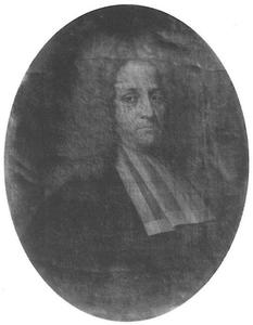 Portret van Ulbo van Sixma van Andla (1673- )
