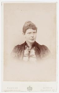 Portret van Sara van Houten (1856-1899)