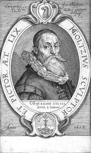 Portret van Hendrick Goltzius (1558-1617)