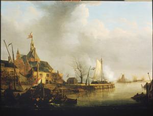 De beschieting van Dordrecht door de Fransen op 24 november 1813