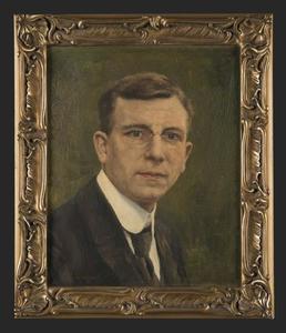 Portret van Heiko Tiberius Oberman (1883-1924)