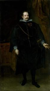 Portret van Diego Felipe de Guzmán Marqués de Leganés (c. 1580-1655)