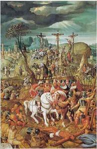 Episoden uit de Passie van Christus: de kruisdraging, Christus wordt aan het kruis geslagen, de kruisiging