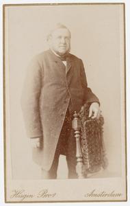 Portret van lt. Carel Willem Adriaan van Valkenburg (1820-1890)