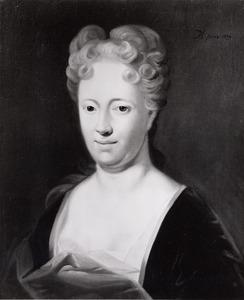 Portret van Anna Elsevier (1685-1748)