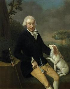 Portret van mogelijk Jan Geertsema Wychgel (1758-1820)