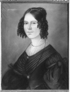 Portret van waarschijnlijk Tanna Wilhelmina Was (1816-1886)