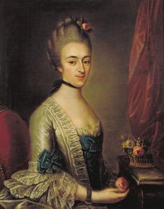 Portret van Rachel Lopes Suasso (1740-1771)