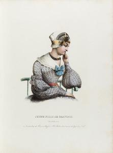 Jonge vrouw uit Zaandam