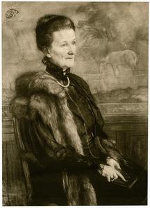 Portret van Anna Elisabeth van Limburg Stirum (1847-1923)
