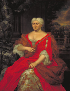 Portret van Eliseba Lopes Suasso (1663-1746)