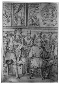 De onwaardige bruiloftsgast (Matth. XXII, 2-14)