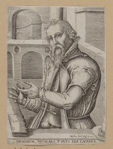 Portret van Hendrick Niclaes (1502-1588)