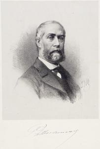 Portret van Pierre Louis Dubourcq (1815-1873)