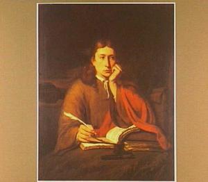 Johannes de evangelist in een landschap