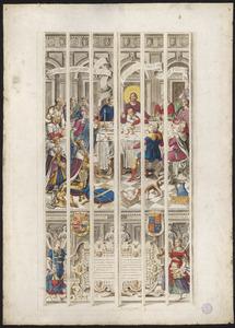 Het Laatste Avondmaal (naar raam/carton 7)