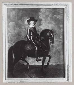 Ruiterportret van Frederik Hendrik van Oranje-Nassau (1584-1647)