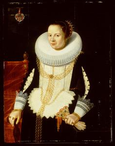 Portret van Gertrud Kiever (Kyver),echtgenote van Peter Ostermann