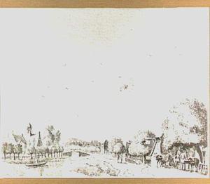 Het dorp Lent