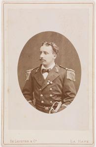 Portret van Jean Arthur Godert van der Staal (1854-1904)