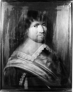 Portret van Arnaud Adrian, heer van Bijlant, kapitein in het Noord-Hollands regiment