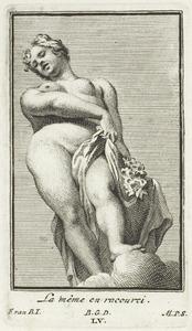 Flora, in verkort perspectief (pl. LV)