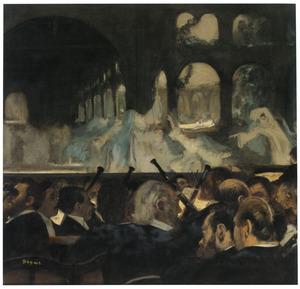 Ballet scene uit de opera 'Robert le Diable' van Meyerbeer , 1876