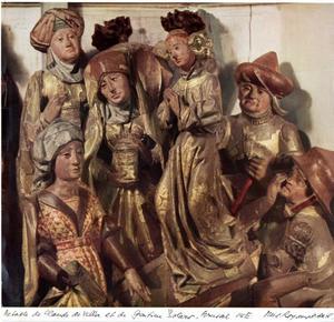 De drie heilige vrouwen bij het graf