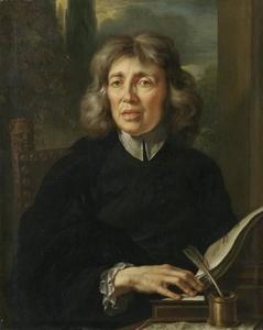 Portret van abt en componist Sebastiano Moratelli