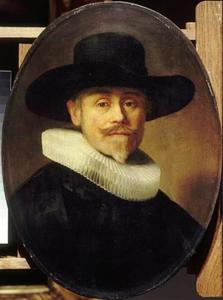 Portret van een zevenenveertig-jarige man