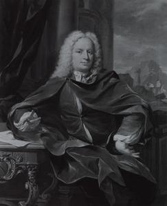 Portret van waarschijnlijk Reijer van der Burch ( -1739)