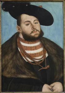Portret van Johann Friedrich I, de Grootmoedige, Keurvorst van Saksen (1503-1544)