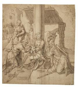 De aanbidding van de drie koningen