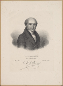 Portret van Caspar Jacob Christiaan Reuvens (1793-1835)