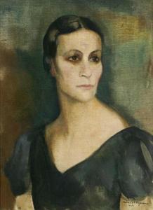 Portret van Nel Daniëls (1892-1962)