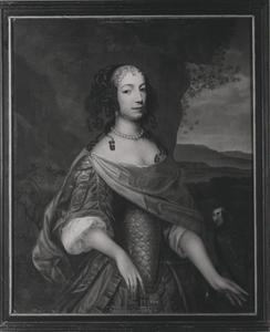 Portret van Florentina Valckenaer (1638- )