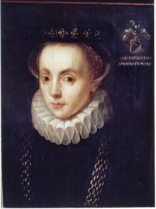 Portret van een 30-jarige vrouw, volgens het opschrift Anna van Meinertzhagen
