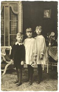 Portret van de kinderen Helmolt