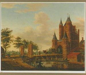 De Amsterdamse Poort of Spaarnwouderpoort te Haarlem
