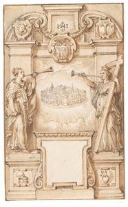 Allegorie op het Hemelse Jeruzalem