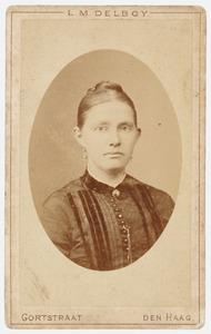 Portret van Maria Kortekaas (...-1923)