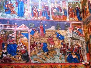 De zoon van de Sunammitische vrouw  wordt onwel tijdens het maaien met zijn vader (2 Koningen 4:18-20)