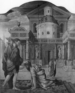 De H. Dionysius geneest de blinde