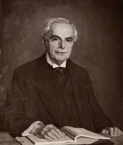 Portret van Albert Abraham Hijmans van den Bergh (1869-1943)
