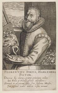 Portret van Floris van Dyck (?-1651)