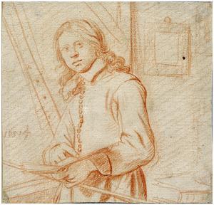 Zelfportret van Jan de Bray (....-1697)